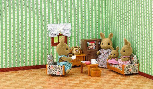 Sylvanian Family Country Living Room Set. Loading Zoom