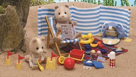 Sylvanian Family Day At The Seaside