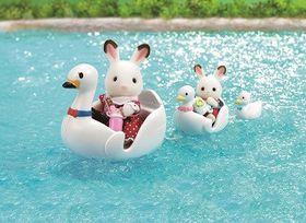 Sylvanian Family Swan Boat Set