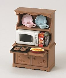 Sylvanian Family Cupboard With Oven