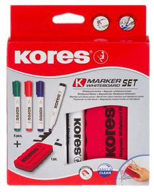Kores K-Marker Whiteboard Marker Set