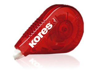 Kores Roll On Dry Correction Tape Red Barrel (8.5m x 4.2mm)