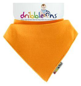 Dribble Ons - Bright Baby Bib - Orange