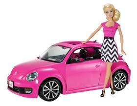 Barbie Volkswagen Beetle & Barbie