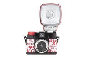Lomography Diana Mini Love Letters Camera with Flash