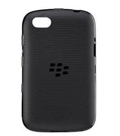 BlackBerry 9720 Soft Shell - Black Translucent
