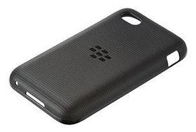 BlackBerry Q5 Soft Shell - Black Translucent