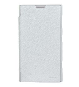 Mozo Nokia Lumia 1020 Flip Cover - White