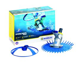 Zodiac - Pacer B3 Pool Cleaner Head - Pearl Blue and Silver