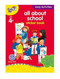 Galt Toys All About School Book