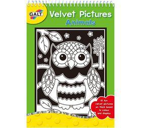 Galt Toys Velvet Animals Pictures
