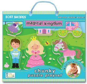 Soft Shapes - Chunky Puzzle Play set - Magical Kingdom