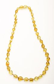 Baltic Amber - Teething Necklace - Lemon