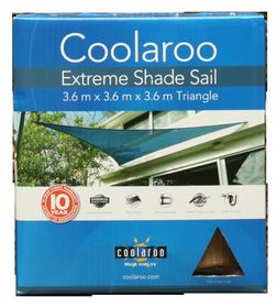 Coolaroo - Extreme Shade Sail Triangle 3.6m- Desert Sand