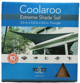 Coolaroo - Extreme Shade Sail Triangle - Desert Sand