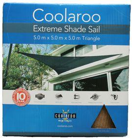 Coolaroo - Extreme Shade Sail Triangle 5m - Desert Sand