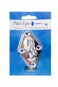 Coolaroo - Pad Eye Marine Grade 316 - Stainless Steel