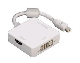 Hama 3in1 Mini Display Port Adapter for DVI DisplayPort