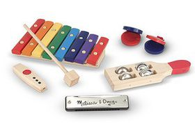 Melissa & Doug Wooden Beginner Band Set