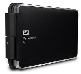 WD My Passport Pro 2TB Thunderbolt 2.5 inch Hard Drive