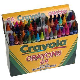 Crayola Back To School 64 Crayons