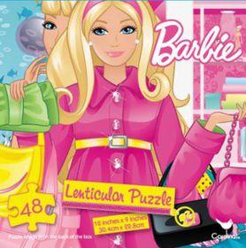 Barbie Lenticular Tower Puzzle - 48 Piece