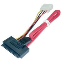 Lindy Internal SATA Combo Cable - 0.3m