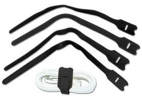 Lindy Velcro 10 Pack Black - 300mm