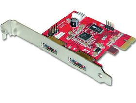 Lindy 2-Port Power Over eSATA PCI Express Card