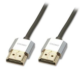 Lindy HDMI Male to Male Cromo Cable - 1m