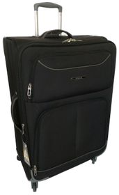 Tosca 50cm Platinum Cabin Case - Black & Grey