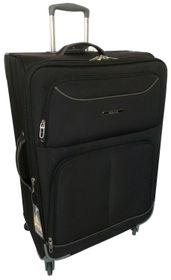 Tosca 60cm Platinum Trolley Case - Black & Grey