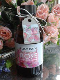 Rose en Bos Rose Geranium Foam Bath - 200ml
