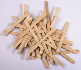 Dala Wooden Sucker Sticks Thin Natural Colour 50 Pieces Buy Online In South Africa Takealot Com