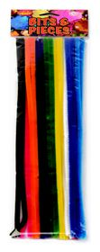 Dala Pipe Cleaners - Thick Assorted Colours (12 Pieces)