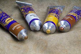 Dala Antique Rub 30ml Tube - Gold