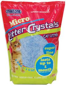 Marltons - Micro Cat Litter Crystals - 1.5kg