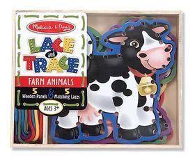 Melissa & Doug Farm Lace & Trace