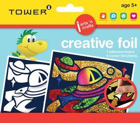 Tower Kids Creative Foil - Spaceship
