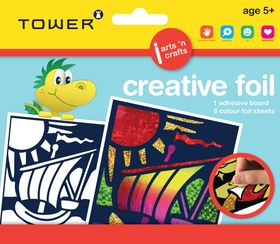 Tower Kids Creative Foil - Boat