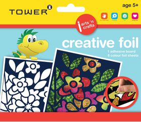 Tower Kids Creative Foil - Flowers