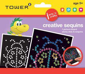 Tower Kids Creative Sequins - Ladybug