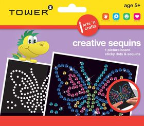 Tower Kids Creative Sequins - Butterfly