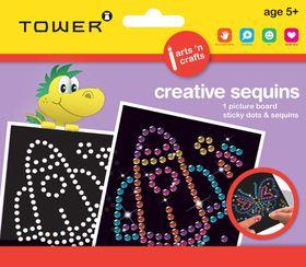 Tower Kids Creative Sequins - Rocket