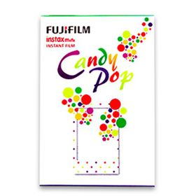 Fujifilm Instax Mini Film Candy Pop Film Pack of 10