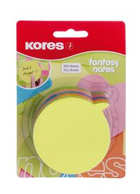 Kores Fantasy Dialogue Notes - Neon Colours (250 Sheets)