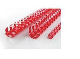 GBC 22mm 21 Loop PVC Binding Combs - Red (Pack of 100)