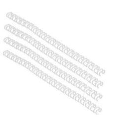 GBC 6mm 21 Loop Wire Element - White (100 Pack)