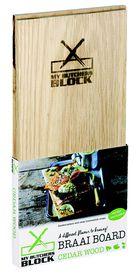 My Butchers Block - 2 Pack Braai Board - Cedar