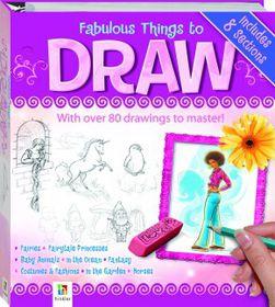 Hinkler Fabulous Things To Draw Binder